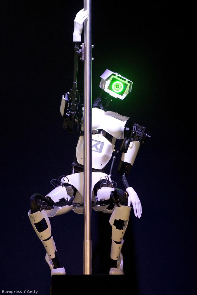 Rúdtáncos robot Hannoverben