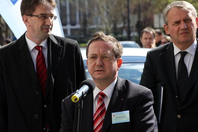 Dr. Illés Zoltán a Vidékfejlesztési Minisztérium államtitkára