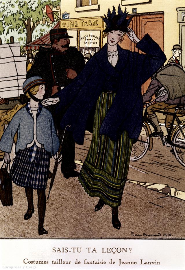 Jean Lanvin kalap és gyerekruha készítéssel kezdte karrierjét.
