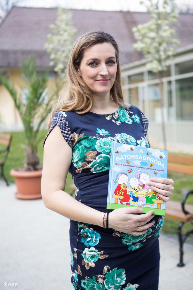 Borszékiné dr. Cserháti Erika kisfia betegsége alatt kezdett dolgozni egy könyvön