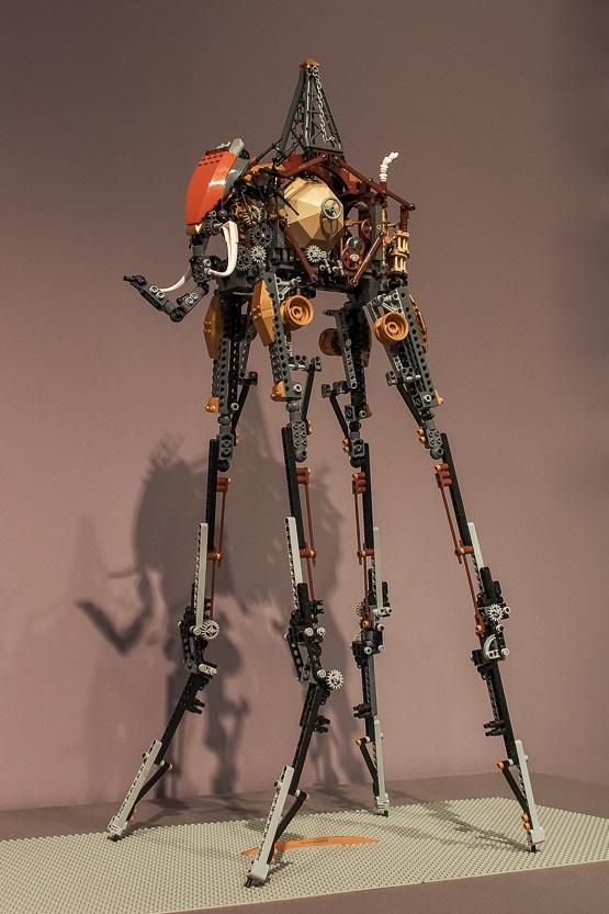 Steampunk lett Dalí elefántjából