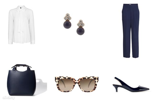Blúz - 9995 Ft (Mango), nadrág - 8990 Ft (H&M), fülbevaló - 1295 Ft (Parfois), napszemüveg - 14,05 euró (Asos), táska - 27995 Ft (Zara), cipő - 13995 Ft (Zara)