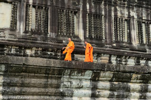 Buddhista szerzetesek
