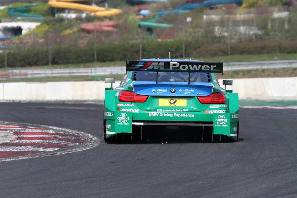 Augusto Farfus Jr. kifejezetten elégedett volt a hungaroringi teszt eredményével, mert a BMW M4 DTM-mel komolyabb hiba nélkül teljesítették a programot.