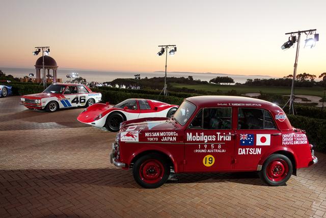 Az 1958-as ausztráliai Mobilgas verseny kategóriagyőztese volt a Datsun 210