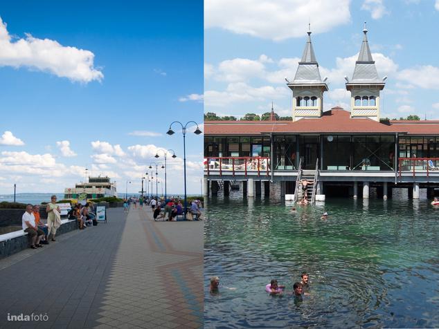 Balaton van Hévíz? Ön melyiket választaná?