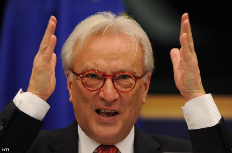 Hannes Swoboda, az Európai Parlament szocialista frakcióvezetője