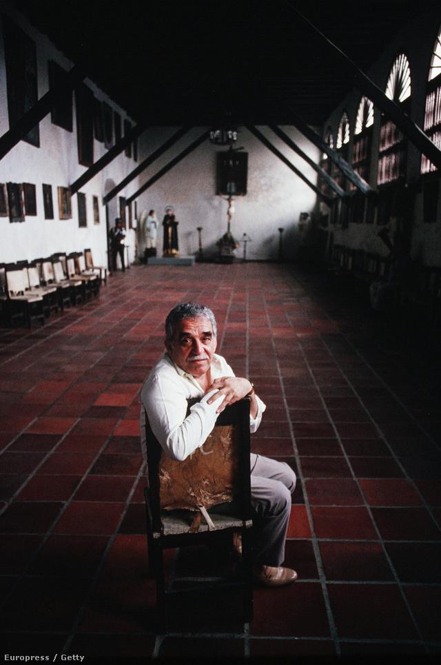 Marquez 1991-ben Kolumbiában