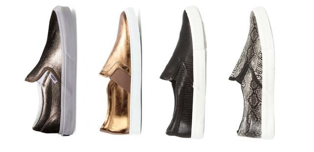 Az egyik cipő a képen csak 6 ezer forint, egy másik meg 133 ezer. Kitalálja, melyik ezek közül a designer-verzió?