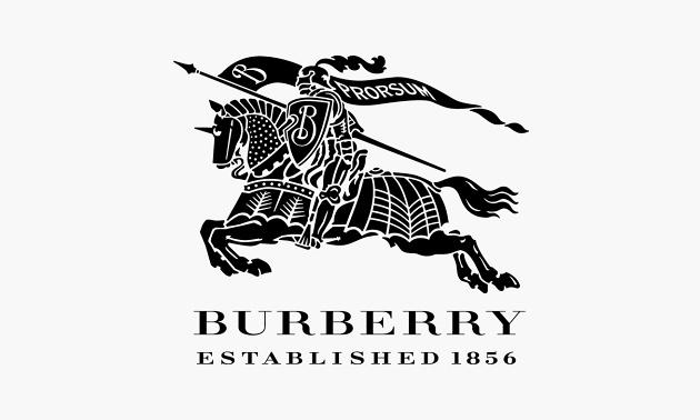 Az 1856-ban alapított márka lándzsás, páncélos lovagja 1901-ben a vízálló gabardinkabát fejlesztésénél került rá a szövetre.