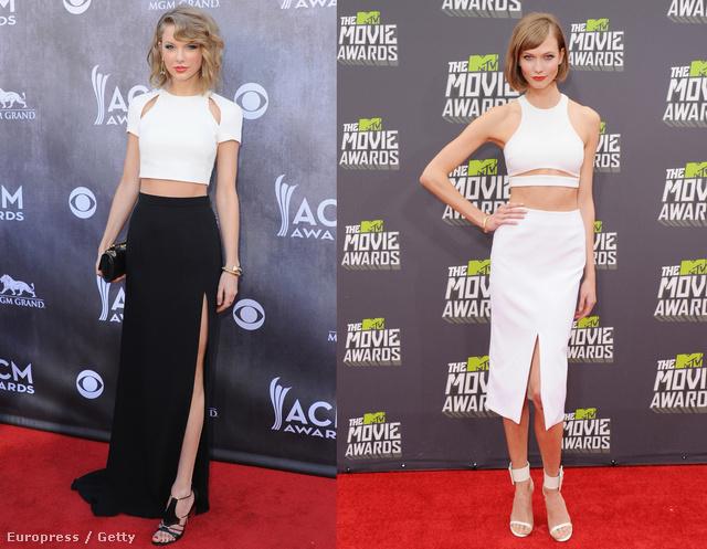 Taylor Swift és Karlie Kloss is beleszeretett az itt-ott kivágott ruhákba.