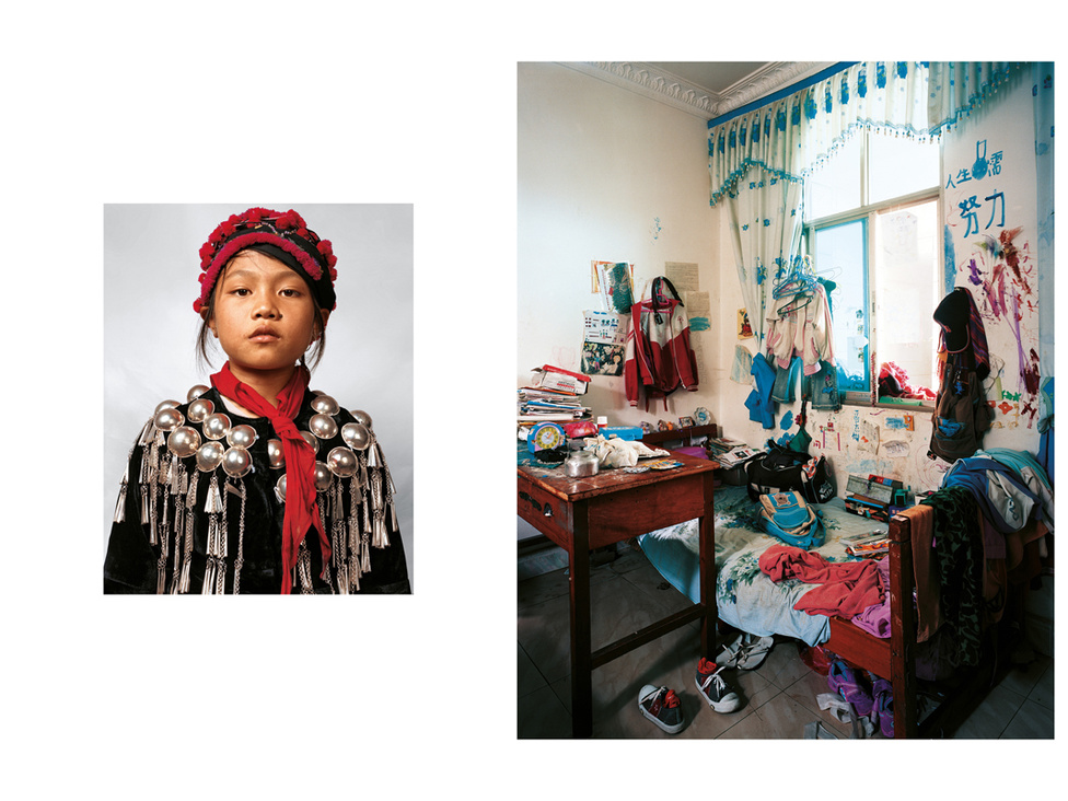 Lei 11 éves, a nagyszüleivel, testvérével és két unokatestvérél él Kínában. A szülei gyerekeiket hátrahagyva a nagyvárosban élnek és dolgoznak, hetente egyszer jönnek látogatóba. A nagyszülők rizs-, cukor- és zöldségtermesztésből élnek, de a városban élnek, mert így kényelmesebb az iskolák és a kórházak miatt. Lei gyalog jár a nagyjából egy km-re lévő iskolába, esténként 30 percig írja a leckéjét. A nagymamája szeretné, ha Lei megőrizné a családi hagyományokat, ő viszont orvos szeretne lenni, és reméli, hogy a szüleinek lesz pénze a taníttatására.