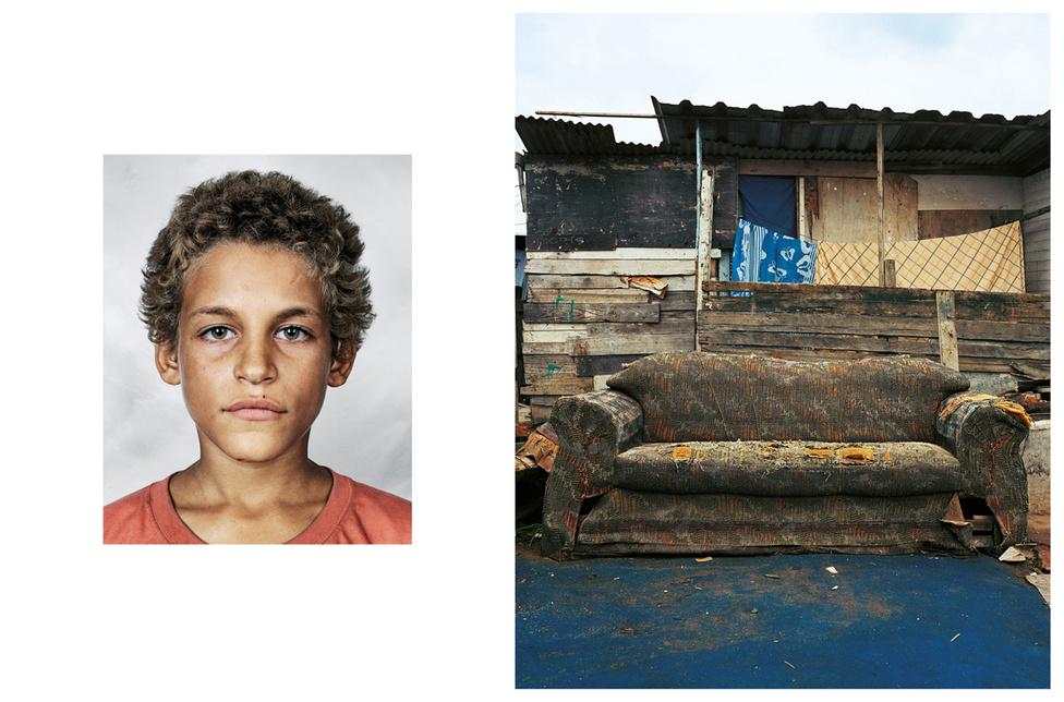 Alex 9 éves, Rio de Janeiroban él. Nem jár iskolába, az utcán koldul vagy a piros lámpánál várakozókról lopja le az órájukat. Szipuzik, ha talál egy kanapét vagy ágyat az utcán, akkor azon alszik, egyébként a járdán. Kapcsolatban van a családjával, néha elmegy hozzájuk ebédelni.
