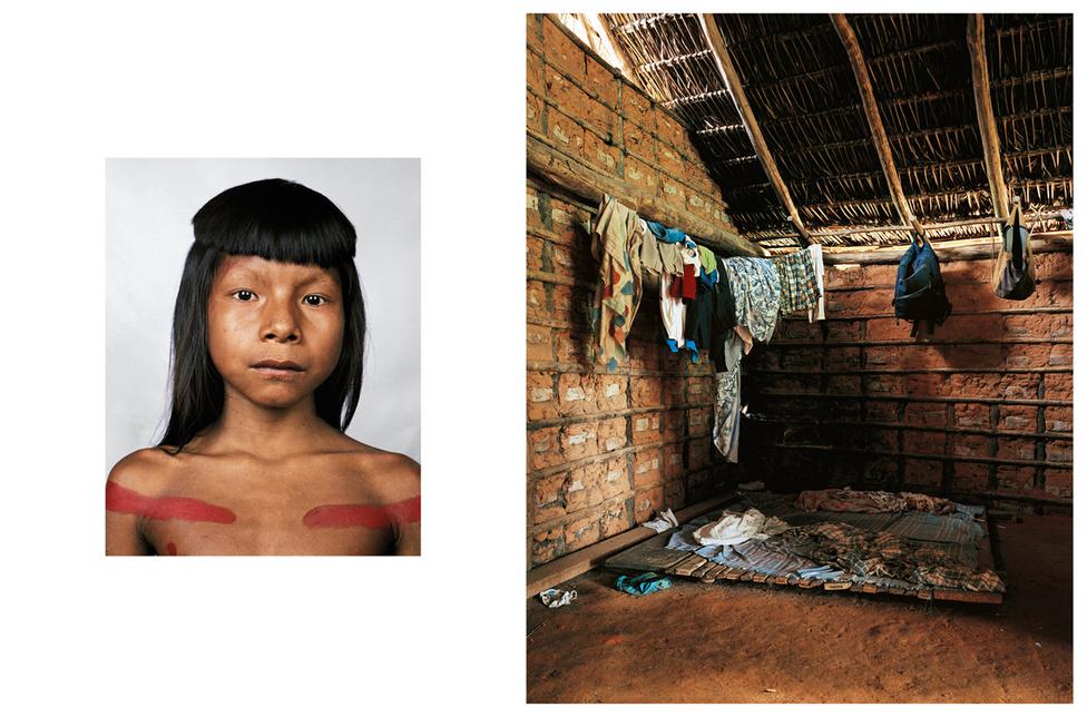 Ahkôhxet 8 éves, és az Amazon-menti Kraho törzs tagja. A törzs alig 2000 tagból áll, tagjai úgy hiszik, hogy a nap és a hold hozta létre a világot. Többszáz éves szertartásaik vannak, az egyik ilyenből származik a piros festés Ahkôhxet testén. Tisztelik a természetet és a környezetüket, a kunyhóik körben vannak elrendezve, hogy középen tarthassák a találkozókat és a ceremóniákat. A közeli folyóból van ivóvizuk, itt is mosnak. Az ételek felét maguk termesztik, emellett vadásznak is. Vesznek ételt is, a pénzt az arrajáró filmesektől és fotósoktól szerzik be. Van egy autójuk is, amit a törzs közösen használ.