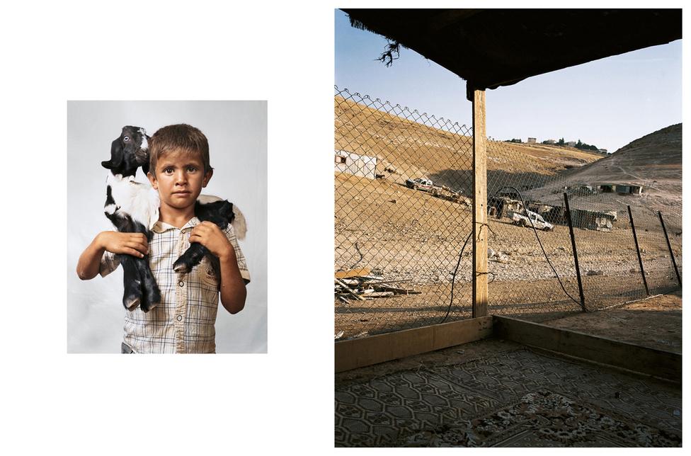 Bilal 6 éves, egy beduin családban él Wadi Abu Hindiben. Az otthonuk egy egyszobás kunyhó, amit saját maguk építettek. Az otthonuk környéke izraeli ellenőrzés alatt áll, és az első házukat le is rombolták, mert nem volt rá építési engedélyük. Attól tartanak, hogy ez az új otthonukkal is megeshet. Nyáron a szabad ég alatt alszanak egy szőnyegen, csak télen használják a házat. A beduinok nomádok lennének, de sokukat kényszerítettek letelepésre az izraeli szabályozások. Főleg rizsen és joghurton élnek, Bilal családjának 15 kecskéje van, az ő tejükből készítik a joghurtot. Heti egyszer esznek húst a rizshez, a vizet egy lajtoskocsiból kapják, napi két liter a fejadag. Bilal nem jár iskolába még, a kecskéket gondozza.