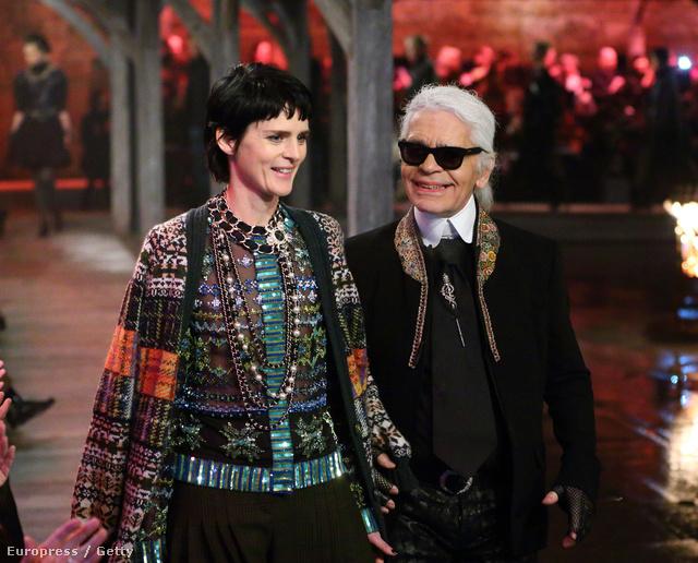 Lagerfeld és a nemesi származású modell, Stella Tennant