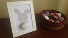 Húsvéti DIY: képkeret nyuszi