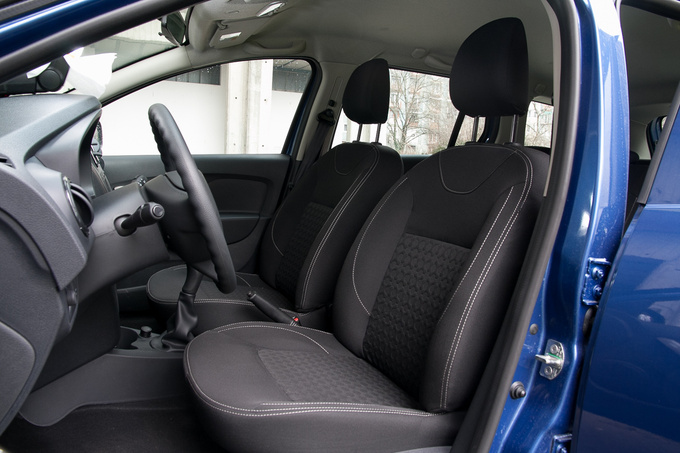 Decent seats – for a utility van