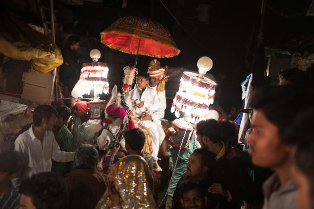 Egy hagyományos indiai esküvő több napig tart