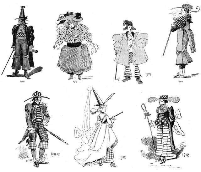 """Igencsak vicces illusztrációkra bukkantak a buzzfeed.com szerkesztői, akik a Strand magazin 1893-as januári kiadásának """"A jövő diktálja a divatot"""" című összeállítását közölték, melyben az akkori divatszerkesztő, W. Cade Gal tippelte meg, milyen szerelésekbe öltözik majd a jövő, azaz a XX. század nője."""
