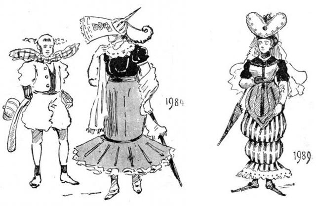 Azért csak volt egy kis jövőbe látó képessége Galnak, ha arra tippelt, hogy éppen a nyolcvanas években jön újra divatba a viktoriánus korszak.