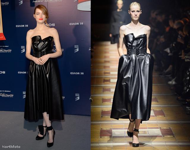 Emma Stone Lanvin-ruhában