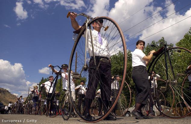 Letűnt korok kerékpárjai