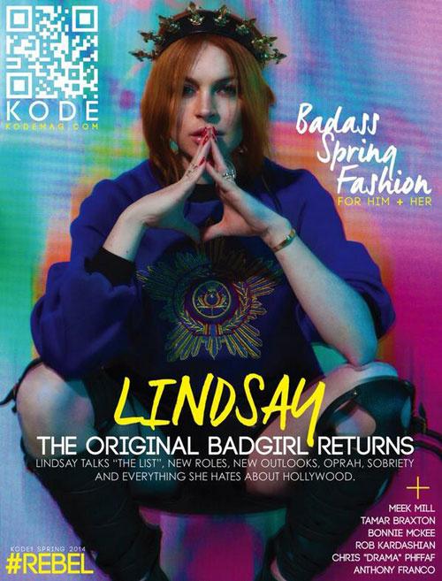 Lindsay Lohan a magyar tervező szettjében