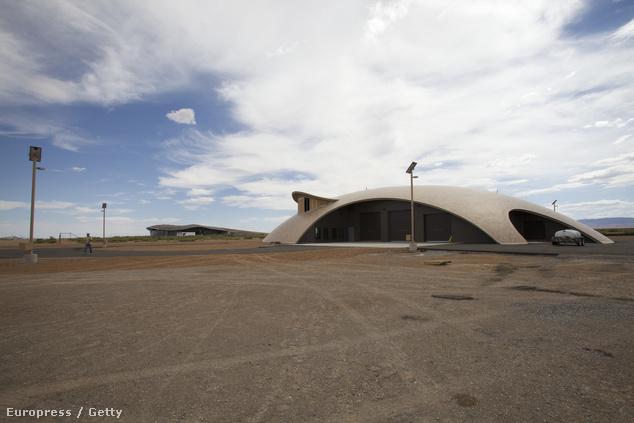 Az új-mexikói Spaceport America irányítócsarnoka