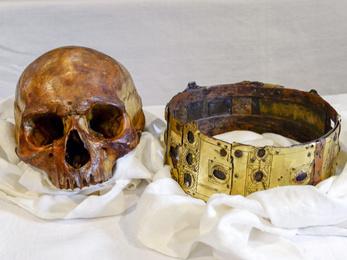 Középkori svéd király csontjait vizsgálják