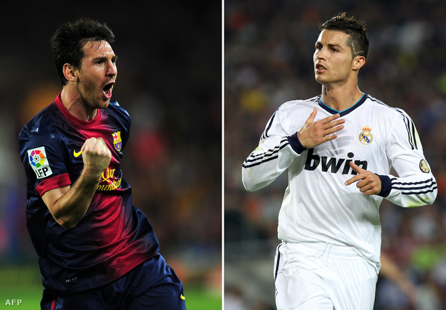 Éljen a nemzetköziség: a két leghíresebb spanyol klub arca egy argentin és egy portugál (Lionel Messi és Cristiano Ronaldo).