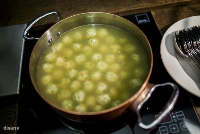 Gombóc,levesbetétként.