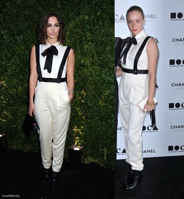 Sophie Auster és Chloe Sevigny ugyanabban a Chanelben - 4 év eltéréssel