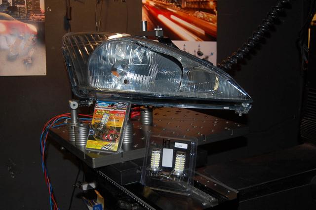 A Focus lámpatest, mint mérő etalon