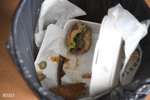 Íme a hamburger vége.