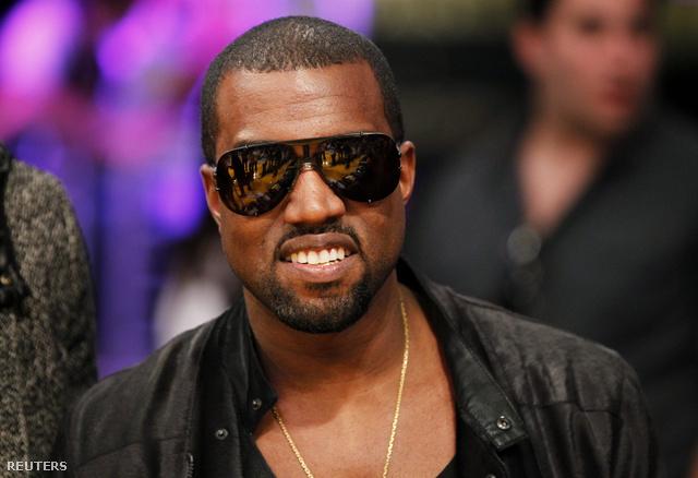 Kanye West egy Lakers meccsen még 2010-ben