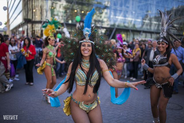 Pa-pa-pa-partyarc, a lányok nagyon jól ropták a dél amerikai friss csárdást