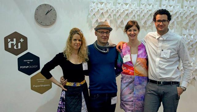 A hazai dizájnerek, a londoni Earls Court Exhibition Centre épületében, május 11. és 13. között a Pulse London kiállítás keretein belül mutathatták be,hogy mit tudnak.