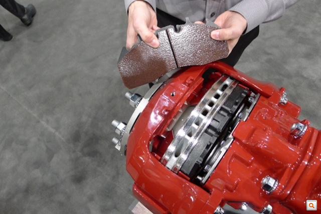 air disc brake and pads