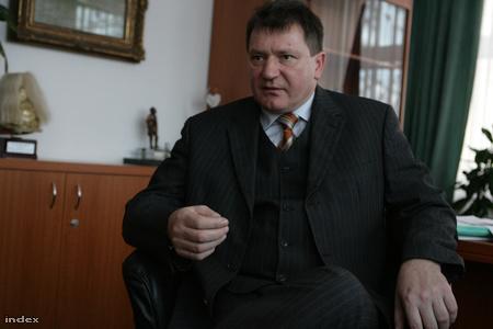Balázs Árpád polgármester (Fotó: Huszti István)
