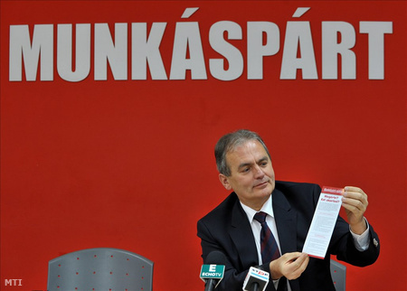 Thürmer Gyula, a Magyar Kommunista Munkáspárt elnöke