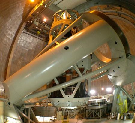 A legendás palomar-hegyi 5 méteres távcsövet ma már nagyrészt spektroszkópiai vizsgálatokra használják