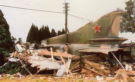 incidente mig-23 Crash