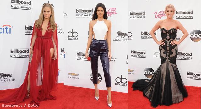 Jennifer Lopez, Kendall Jenner és Kesha.
