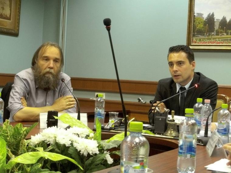 Alexander Dugin és Vona Gábor