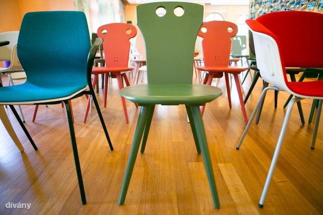 Öt stúdió számtalan széke várja a nagyérdeműt