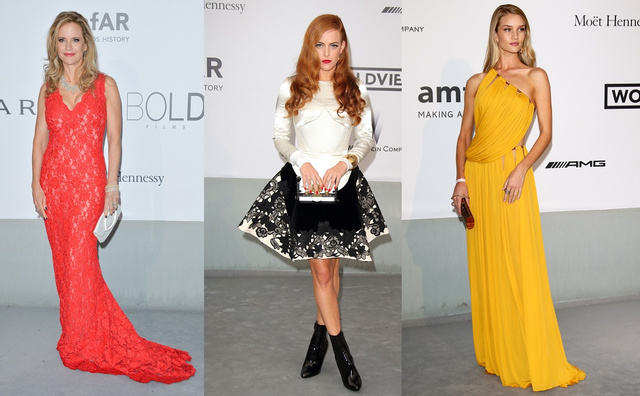 Kelly Preston, Riley Keough és Rosie Huntington-Whiteley.