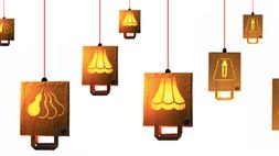 Papírzacskóból készül a környezetbarát lámpabúra