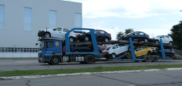 És a kész autók