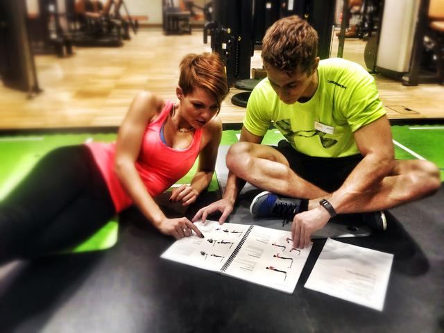 Megbeszélés Gaál Attilával, az F&M fitness and more személyi edzőjével.